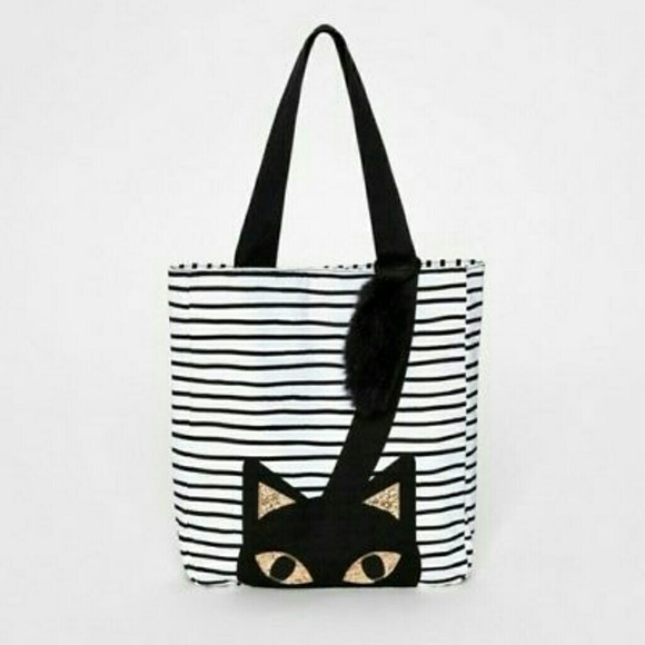 Cat   Jack  Girl s Kitty Cat Tote 02eaf4e70e045